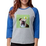 bully_tile.png Womens Baseball Tee