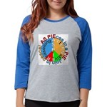ASpie PIEce Womens Baseball Tee