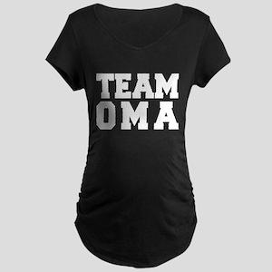TEAM OMA Maternity Dark T-Shirt