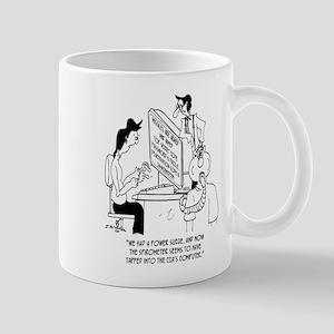 Spirometer Cartoon 7314 11 oz Ceramic Mug