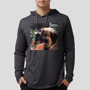Mastiff2pillow Mens Hooded Shirt