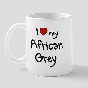 African Grey Love Mug