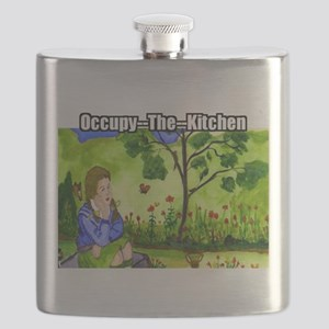 Occupy The Kitchen Flask