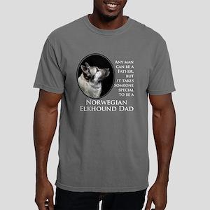 Elkhound Dad Mens Comfort Colors Shirt