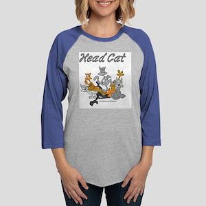 Head Cat final Womens Baseball Tee