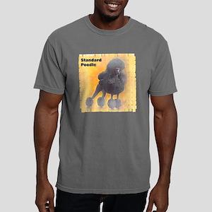 blk std poodle 1 10x10_a Mens Comfort Colors Shirt
