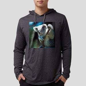 Cute Koala Bear Mens Hooded Shirt