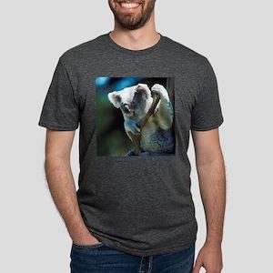 Cute Koala Bear Mens Tri-blend T-Shirt