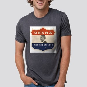 obamaBIDENjfkshield60 Mens Tri-blend T-Shirt