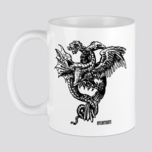 Winged Monster Fight Mug
