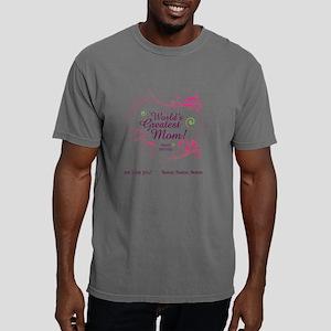 Custom We Love You Mom Mens Comfort Colors Shirt