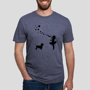 Cesky-Terrier28 Mens Tri-blend T-Shirt