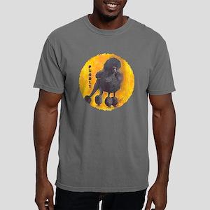 blk std poodle 2 10x10_a Mens Comfort Colors Shirt