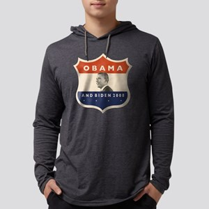 obamaBIDENjfkshield60TR Mens Hooded Shirt