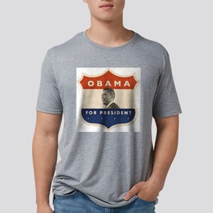 obamajfkshield60BTP Mens Tri-blend T-Shirt