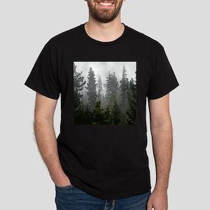 Misty pines Dark T-Shirt