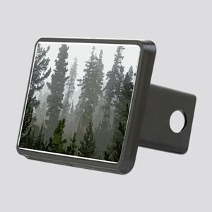 Misty pines Rectangular Hitch Cover