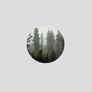Misty pines Mini Button