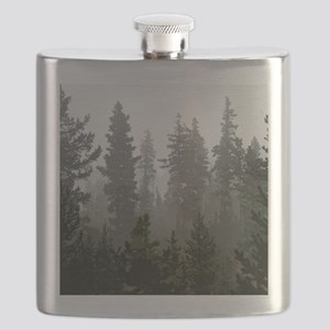 Misty pines Flask