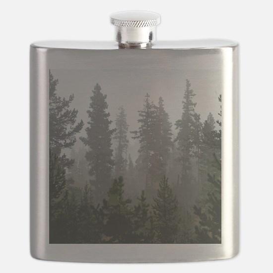 Misty pines Flask