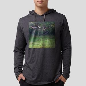 whitetails-ga Mens Hooded Shirt
