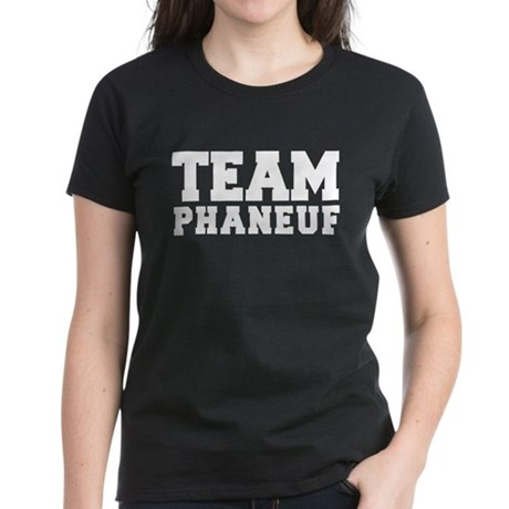 TEAM PHANEUF Women's Dark T-Shirt