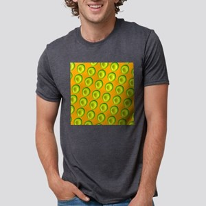 Delish Avocado 4Delia Mens Tri-blend T-Shirt