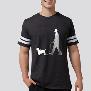 Cesky-Terrier35 Mens Football Shirt