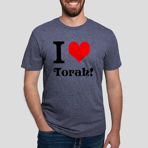 I love Torah! Mens Tri-blend T-Shirt