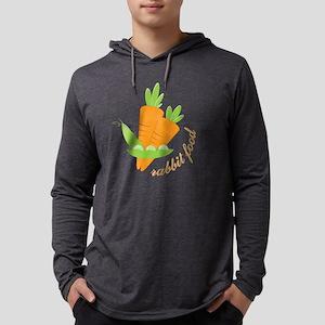 Rabbit Food Mens Hooded Shirt