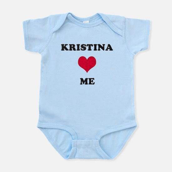 Kristina Loves Me Infant Bodysuit