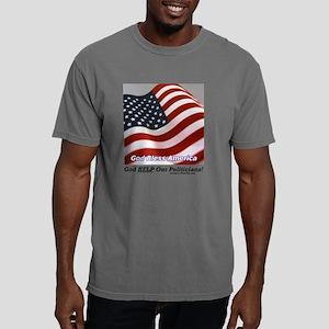 GodHelpp Mens Comfort Colors Shirt