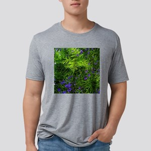 Scottish Blue Bells Mens Tri-blend T-Shirt