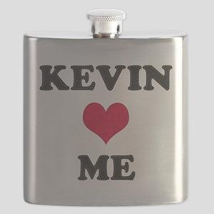 Kevin Loves Me Flask