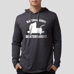 StrollerNaturalBornSkateb1B Mens Hooded Shirt