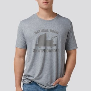 StrollerNaturalBornSkateb1C Mens Tri-blend T-Shirt