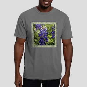 Bluebonnet with Border Mens Comfort Colors Shirt