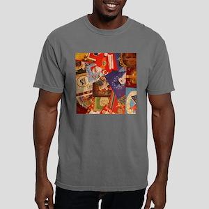 christmascards_10x10 Mens Comfort Colors Shirt