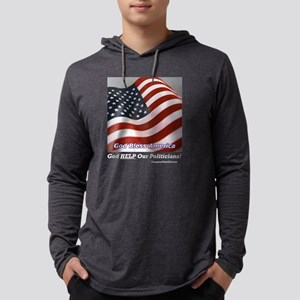 GodHelpdp Mens Hooded Shirt