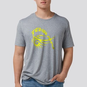 Urban Tehranc yellow nb lar Mens Tri-blend T-Shirt