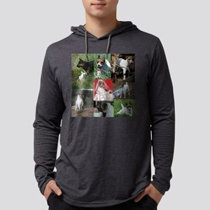 Harley the Jack Russell Mens Hooded Shirt