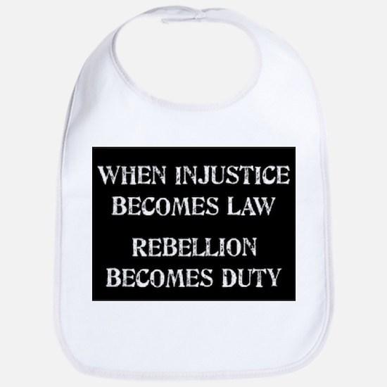 When Injustice... Bib