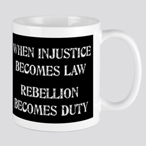When Injustice... Mug