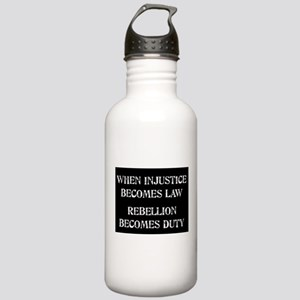 When Injustice... Stainless Water Bottle 1.0L
