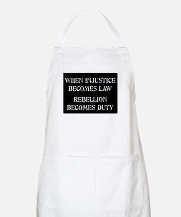 When Injustice... Apron
