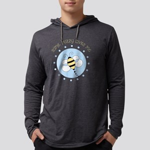 Some Buzzy Mens Hooded Shirt