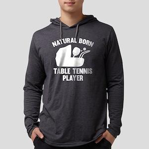 StrollerNaturalBornTableTennis2B Mens Hooded Shirt
