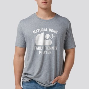 StrollerNaturalBornTableTen Mens Tri-blend T-Shirt