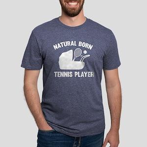 StrollerNaturalBornTennis1B Mens Tri-blend T-Shirt