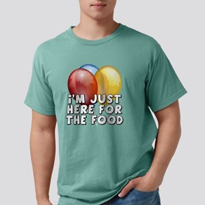 Im Just Here For The Foo Mens Comfort Colors Shirt